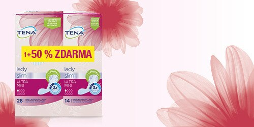 Záber balenia produkt TENA Lady Slim Ultra Mini