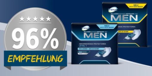 Produkttest mit TENA MEN