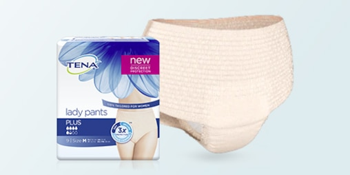 TENA Lady Pants Plus paket ve ürün