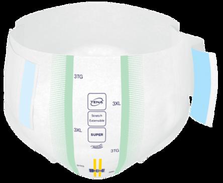Changes complets d'incontinence TENA Bariatrique UltraMC fermés