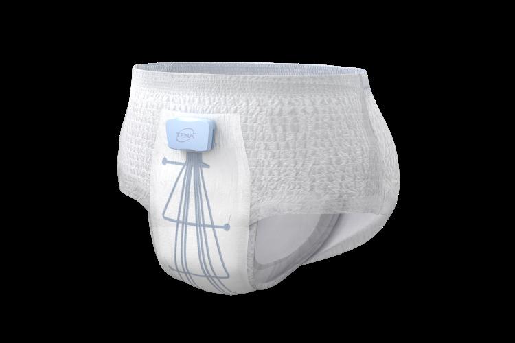 Utforska nya TENA Identifi Sensor Wear Pants