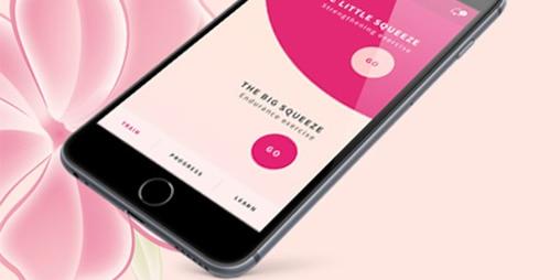 """Die lights by TENABeckenboden-Fitness-App""""mybbf"""" hat ein neues Design und zusätzliche Features. Sie ist ihr kostenloses Fitness-AbofürIhre V-Zone"""
