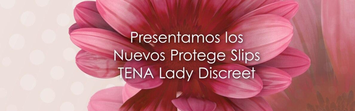 Presentamos la nueva gama de protegeslips TENA Lady Discreet