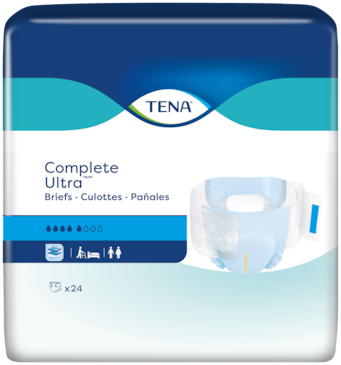TENA Complete Ultra™ Briefs | Adult diapers with tabs