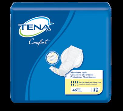 TENA® Comfort™ Pad Day Plus   Heavy incontinence pad