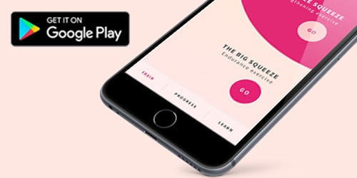 Visit Google Play to see the new design of the lights by TENA My Pelvic Floor Fitness App for android