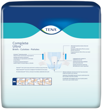 TENA Complete Ultra | Adult diapers with tabs