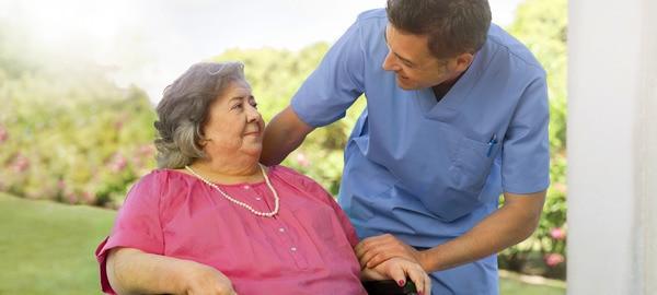 Caregiving nurse