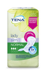 TENA Lady Slim Normal pack shot
