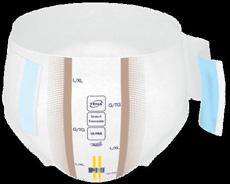 Change complet d'incontinence TENA ConfioAir Stretch ultra fermé