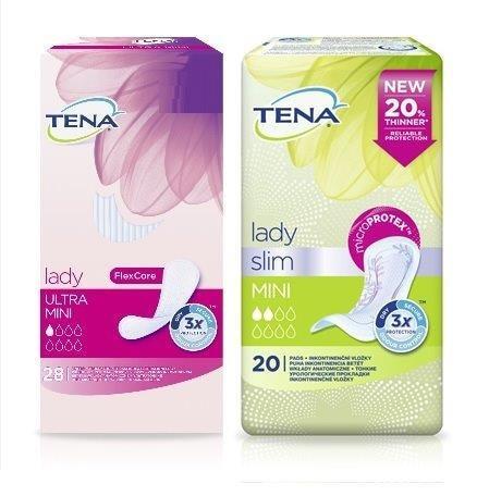 Ingyenes TENA Lady termékminta