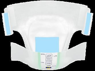 TENA confioair stretch super incontinence brief open