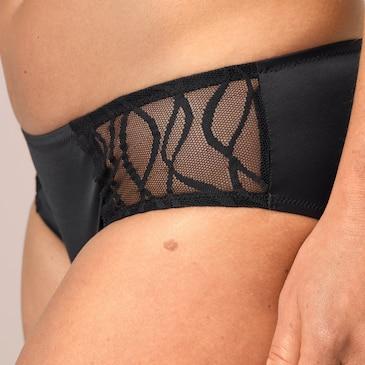 Le confort de votre lingerie habituelle – Fabriquée avec un tissu de qualité supérieure et en dentelle raffinée