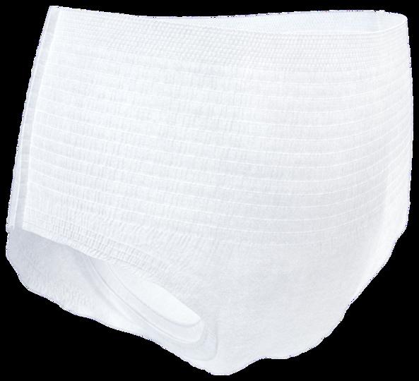 TENA Pants, άνετα εσώρουχα ακράτειας κατά της διαρροής ούρων που επιτρέπουν στο δέρμα να αναπνέει, για έναν δραστήριο τρόπο ζωής