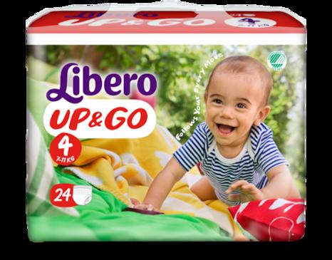 Libero UP&GO Size 4 packshot