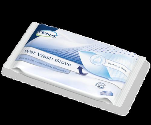 TENA Wet Wash Glove Perfume Free packshot