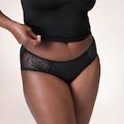 TENA Silhouette waschbare Unterwäsche bei leichter Inkontinenz | Hipster, Schwarz
