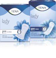 TENA Lady Super & TENA Lady Maxi