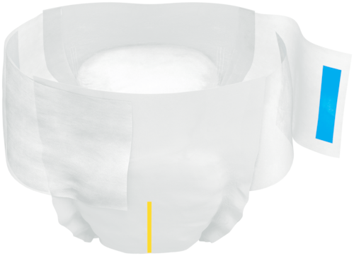 TENA Complete Ultra Briefs - open all-in-one incontinence product with adjustable tabs