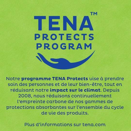 Programme TENA Protects – réduire notre empreinte carbone de 50% d'ici 2030, pour un meilleur impact sur la planète.