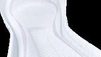 """Greitai sugeriantys paketai su specialia""""InstaDRY™"""" technologija, skirti naudoti esant vidutiniamšlapimo nelaikymui."""