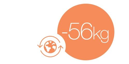 -56 %