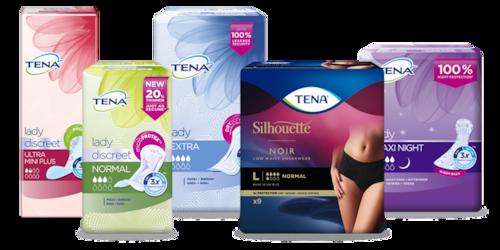 Explore the TENA range for women
