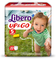 Libero UP&GO Size 5 packshot