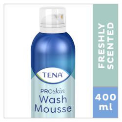 TENA ProSkin Wash Cream Skincare product - cleanse skin with to rinse with water