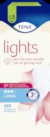 TENA Lights Protège-slip Long pour incontinence | Pour les peaux sensibles