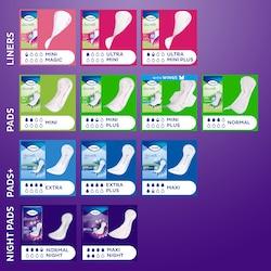 Treffen Sie die richtige Wahl mit TENAs großer Auswahl an Einlagen bei Blasenschwäche für Frauen