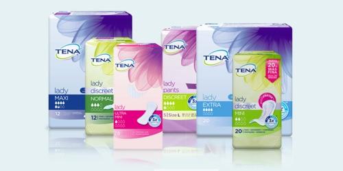Gama de productos TENA para mujer