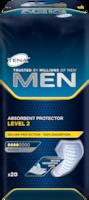 TENA MEN Level 2 imav side – maskuliinne kaitsev side meestele keskmise pidamatuse korral
