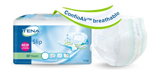 TENA Slip with ConfioAir™