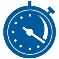 Icon of a Stopwatch - TENA Professional