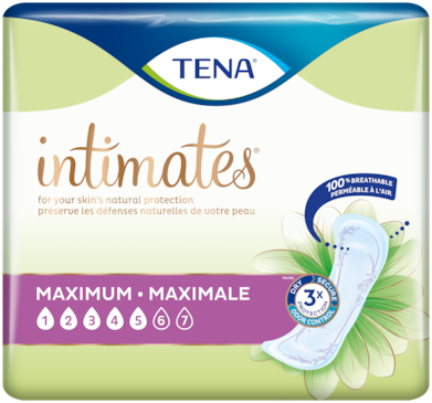 TENA Intimates Maximum | Incontinence pad for women