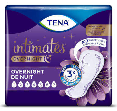 TENA Intimates Overnight | Incontinence pad for women