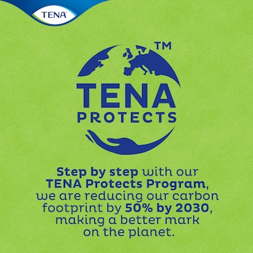 TENA takes responsibility for the planet as well as for people - making real contributions to a sustainable world.