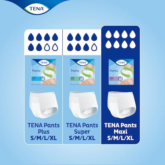 Trova il prodotto più adatto a te nella gamma di mutandine assorbenti per incontinenza TENA