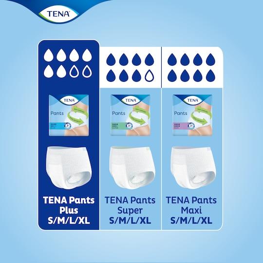 Encontre o produto adequado para si na gama de cuecas para incontinência TENA