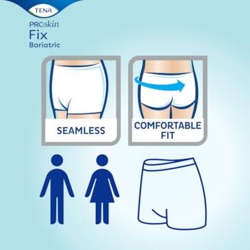 Saumattomat, pesunkestävät ja miellyttävästi istuvat hygieniahousut