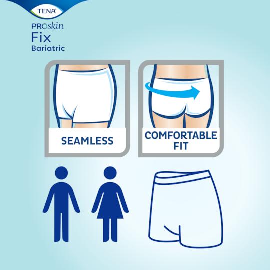 Waschbare Fixierhose mit nahtlosem Design und komfortabler Passform