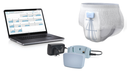 TENA Identifi Sensor Wear Pants and Logger Kit for data-driven, effective care for people with incontinence