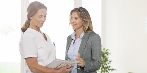 Image of Nurse and Sales Representative - TENA Professional