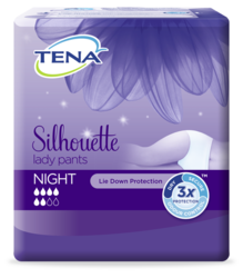 TENA Silhouette Lady Pants Night  - overnight incontinence underwear for women
