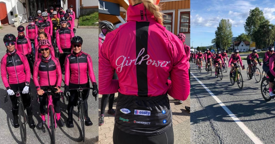Girl Power, sykkellag sponset av TENA