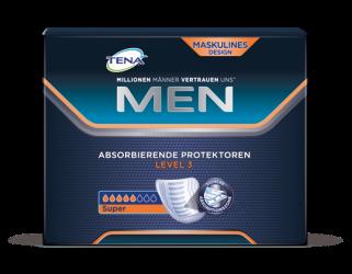 TENA Men Absorbierender Protektor Level3 Produktfoto mittlere Saugstärke