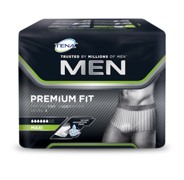 TENA MEN Premium Fit Protective Underwear Packungsabbildung
