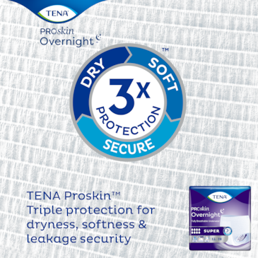 Overnight underwear with Triple protection for dryness, softness & leakage security