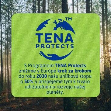 Program TENA Protects – do roku 2030 znížime naše emisie uhlíka o 50 % a postupne znížime našu stopu na planéte.